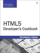 HTML5 Developer's Cookbook