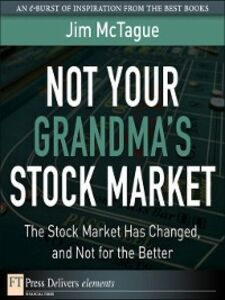 Ebook in inglese Not Your Grandma's Stock Market McTague, Jim
