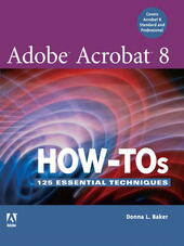 Adobe Acrobat 8 How-Tos