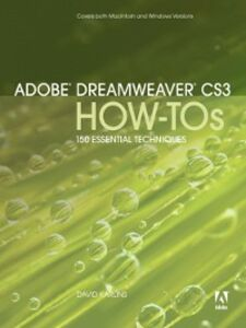 Foto Cover di Adobe Dreamweaver CS3 How-Tos, Ebook inglese di David Karlins, edito da Pearson Education