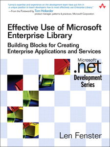 Ebook in inglese Effective Use of Microsoft Enterprise Library Fenster, Len