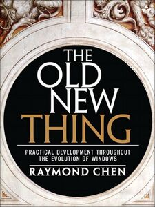 Ebook in inglese The Old New Thing Chen, Raymond