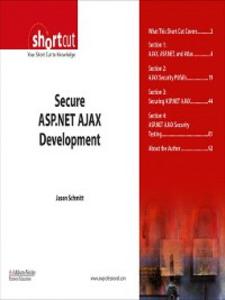 Ebook in inglese Secure ASP.NET AJAX Development (Digital Short Cut) Schmitt, Jason