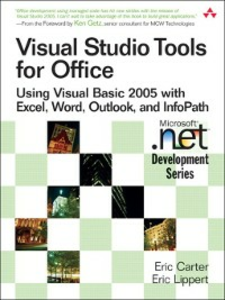 Ebook in inglese Visual Studio Tools for Office Carter, Eric , Lippert, Eric