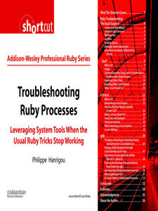 Ebook in inglese Troubleshooting Ruby Processes Hanrigou, Philippe