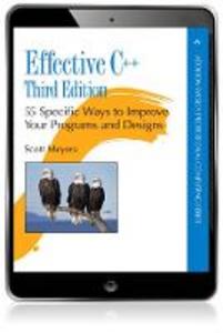Ebook in inglese Effective C++ Meyers, Scott