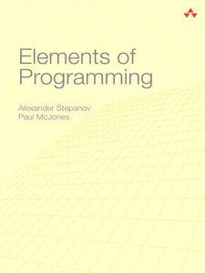 Ebook in inglese Elements of Programming McJones, Paul , Stepanov, Alexander A.