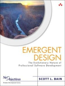 Foto Cover di Emergent Design, Ebook inglese di Scott Bain, edito da Pearson Education