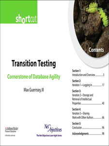 Foto Cover di Transition Testing, Ebook inglese di Max Guernsey III, edito da Pearson Education