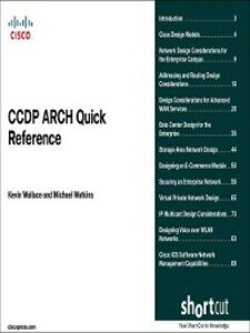 Ebook in inglese CCDP ARCH Quick Reference (Digital Short Cut) Wallace, Kevin , Watkins, Michael