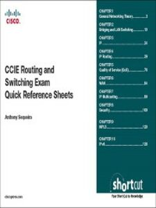 Ebook in inglese CCIE Routing and Switching Exam Quick Reference Sequeira, Anthony