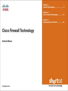 Ebook in inglese Cisco Firewall Technologies (Digital Short Cut) Mason, Andrew