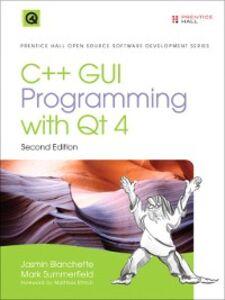 Foto Cover di C++ GUI Programming with Qt4, Ebook inglese di Jasmin Blanchette,Mark Summerfield, edito da Pearson Education