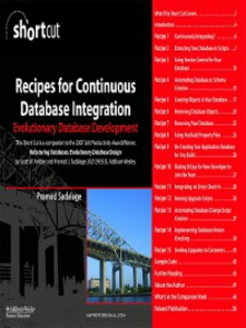Ebook in inglese Recipes for Continuous Database Integration Sadalage, Pramod J.