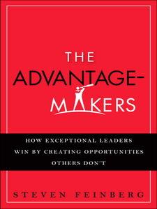Ebook in inglese The Advantage-Makers Feinberg, Steven