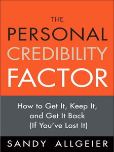 Ebook in inglese The Personal Credibility Factor Allgeier, Sandy