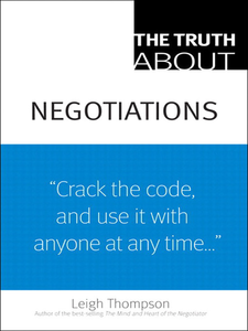 Ebook in inglese The Truth About Negotiations Thompson, Leigh L.