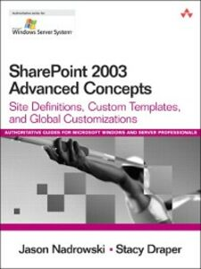 Foto Cover di SharePoint 2003 Advanced Concepts, Ebook inglese di Stacy Draper,Jason Nadrowski, edito da Pearson Education