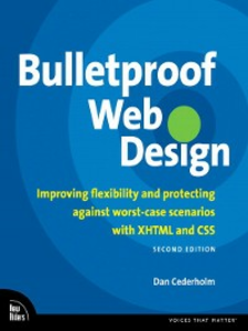 Ebook in inglese Bulletproof Web Design Cederholm, Dan