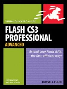 Ebook in inglese Flash CS3 Professional Advanced for Windows and Macintosh Chun, Russell