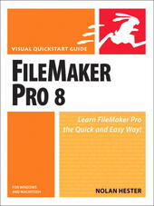 FileMaker Pro 8 for Windows and Macintosh