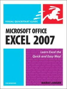 Ebook in inglese Microsoft Office Excel 2007 for Windows Langer, Maria