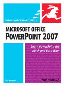 Ebook in inglese Microsoft Office PowerPoint 2007 for Windows Negrino, Tom