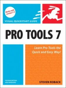 Ebook in inglese Pro Tools 7 for Macintosh and Windows Roback, Steven