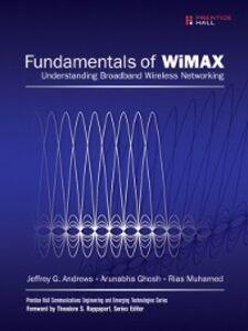 Foto Cover di Fundamentals of WiMAX, Ebook inglese di AA.VV edito da Pearson Education