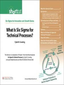 Ebook in inglese What Is Six Sigma for Technical Processes? (Digital Short Cut) Creveling, Clyde M.
