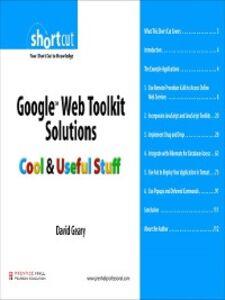 Ebook in inglese Google Web Toolkit Solutions (Digital Short Cut) Geary, David