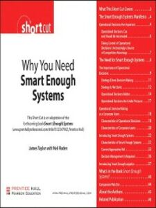 Ebook in inglese Why You Need Smart Enough Systems (Digital Short Cut) Raden, Neil , Taylor, James