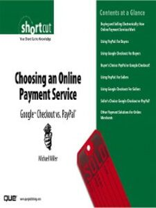 Ebook in inglese Choosing an Online Payment Service Miller, Michael