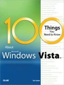 Ebook in inglese 100 Things You Need to Know about Microsoft Windows Vista Geier, Eric