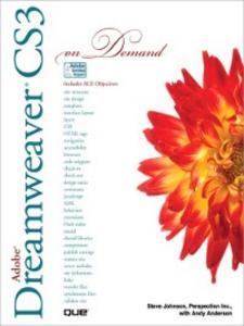 Ebook in inglese Adobe® Dreamweaver® CS3 On Demand Anderson, Andy , Inc., Perspection , Johnson, Steve