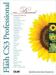 Foto Cover di Adobe Flash CS3 Professional On Demand, Ebook inglese di AA.VV edito da Pearson Education