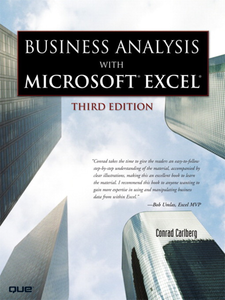 Ebook in inglese Business Analysis with Microsoft Excel Carlberg, Conrad