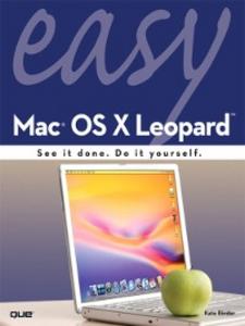 Ebook in inglese Easy Mac OS X Leopard Binder, Kate