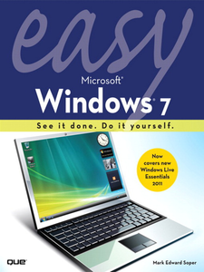 Ebook in inglese Easy Microsoft Windows 7 Soper, Mark Edward