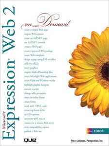 Foto Cover di Microsoft Expression Web 2 On Demand, Ebook inglese di Steve Johnson, edito da Pearson Education