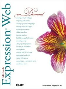 Ebook in inglese Microsoft Expression Web On Demand Inc., Perspection , Johnson, Steve
