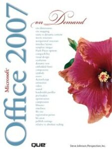 Ebook in inglese Microsoft® Office 2007 On Demand Inc., Perspection , Johnson, Steve