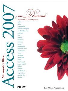 Ebook in inglese Microsoft Office Access 2007 On Demand Johnson, Steve