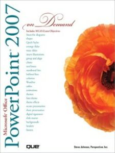 Ebook in inglese Microsoft Office PowerPoint 2007 On Demand Inc., Perspection , Johnson, Steve