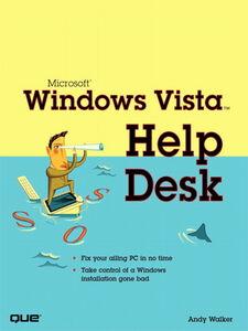 Foto Cover di Microsoft Windows Vista Help Desk, Ebook inglese di Andy Walker, edito da Pearson Education