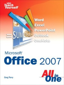 Ebook in inglese Sams Teach Yourself Microsoft® Office 2007 All in One Perry, Greg