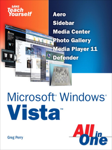 Ebook in inglese Sams Teach Yourself Microsoft Windows Vista All in One Perry, Greg