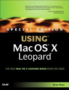 Foto Cover di Special Edition Using Mac OS X Leopard, Ebook inglese di Brad Miser, edito da Pearson Education