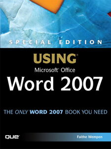 Ebook in inglese Special Edition Using Microsoft® Office Word 2007 Wempen, Faithe