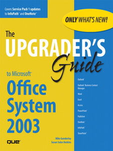 Ebook in inglese Upgrader's Guide to Microsoft Office System 2003 Gunderloy, Mike , Harkins, Susan Sales